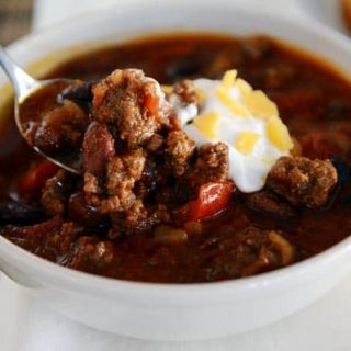 Classic Slow Cooker Chili
