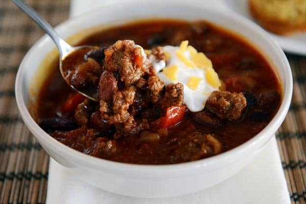 Simple Slow Cooker Chili