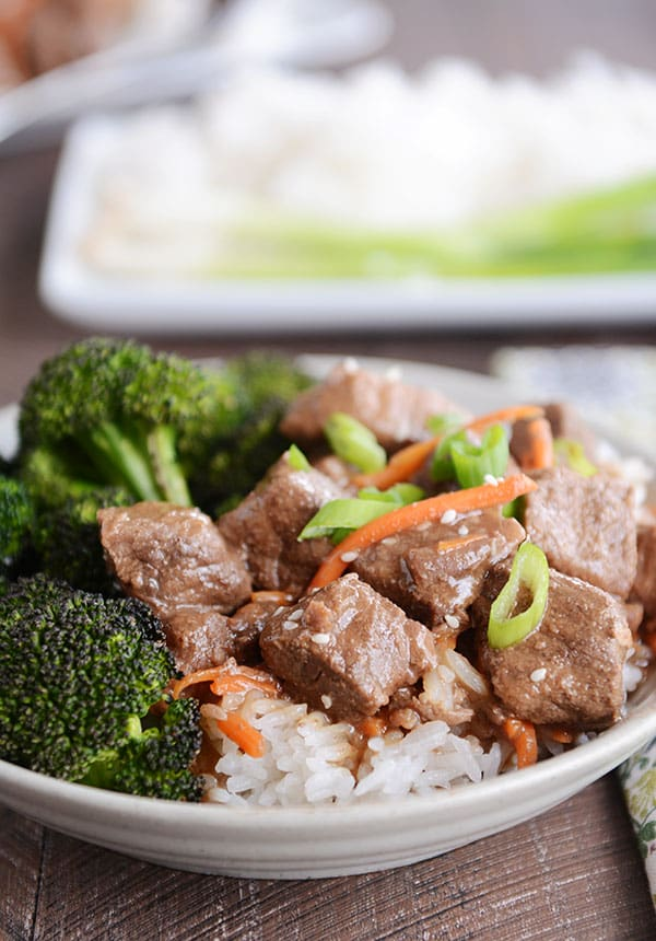 Slow Cooker Korean Beef {With Instant Pot Directions}
