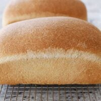 Perfect Whole Wheat Bread {Small Batch; Two Loaves}
