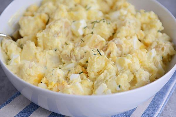 Smashed Yukon Gold Potato Salad