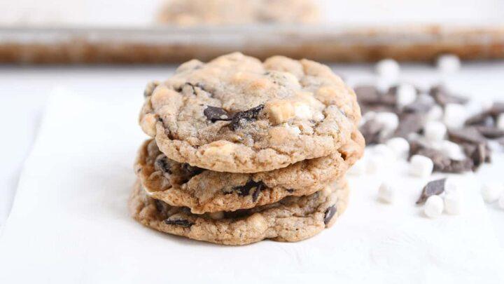 Manteiga de amendoim e caramelo Quase barras de biscoito 3