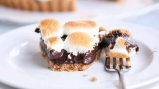 S'Mores Chocolate Pie {or Tart}