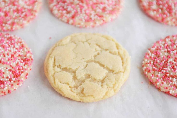 Soft and Chewy Drop Sugar Cookies