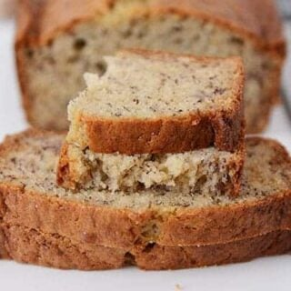 Sour Cream Banana Bread Recipe One Bowl Mel S Kitchen Cafe