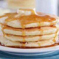 Fluffy Sour Cream Pancakes