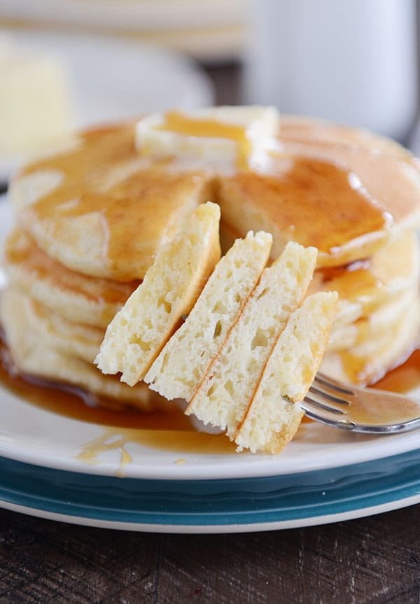 Fluffy Sour Cream Pancakes