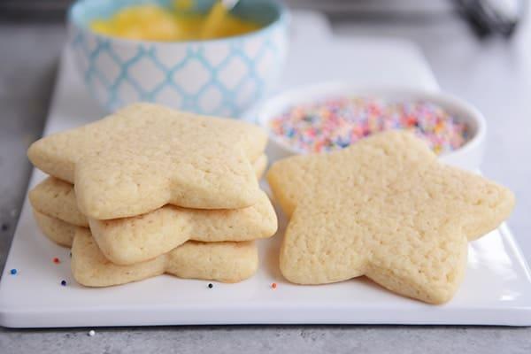 Soft Sour Cream Sugar Cookies