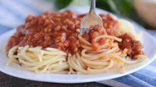 The Best Homemade Spaghetti Sauce