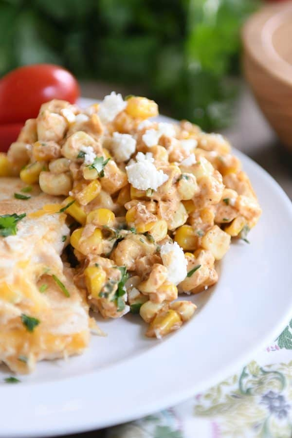 Mexican Street Corn Salad {Esquites} | Mel's Kitchen Cafe
