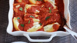 Cheesy Ricotta Stuffed Shells