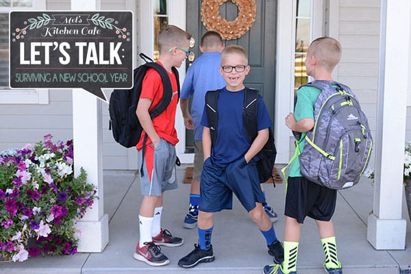 Let?s Talk: How to Survive the Chaos of a New School Year