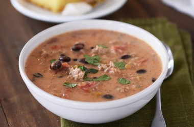 Creamy Black Bean Taco Soup