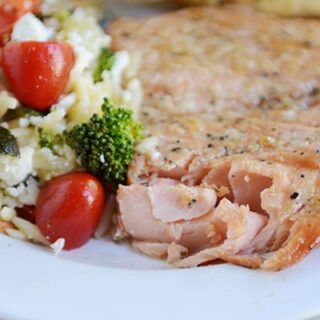 Tender Grilled Salmon {or Foil-Baked}