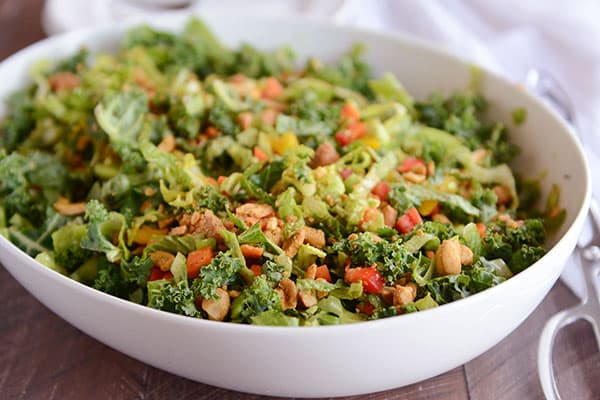 Chopped Thai Vegetable Salad
