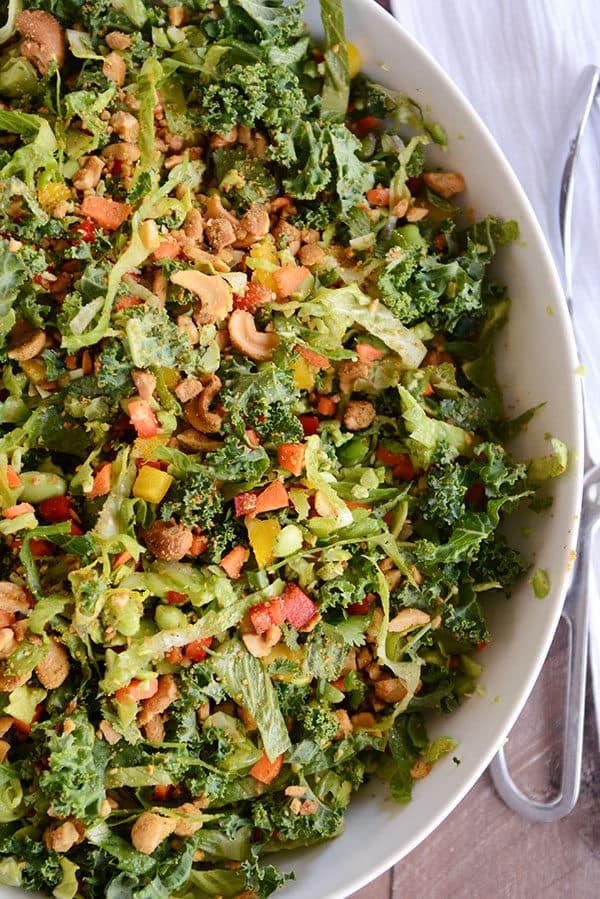 Chopped Thai Vegetable Salad