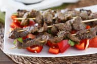 Thai Beef Satay Skewers