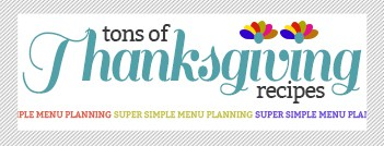 thanksgiving recipe widget