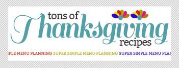 thanksgiving recipe widget