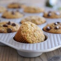 The Best Whole Grain Zucchini Muffins