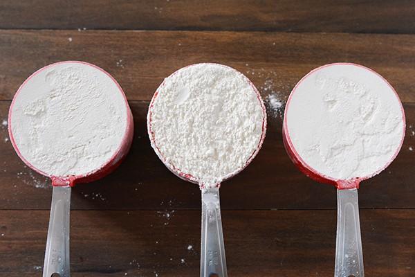 How to Measure Flour