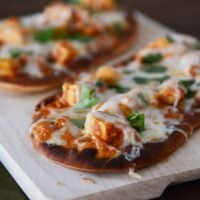 Chicken Tikka Pizzas: Another 20-Minute Meal