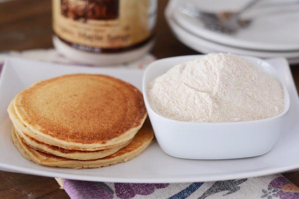 Whole Wheat Make-Ahead Pancake Mix