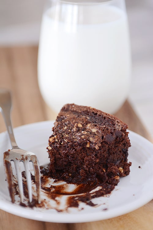 Chocolate Chips Sink To Bottom Of Cake