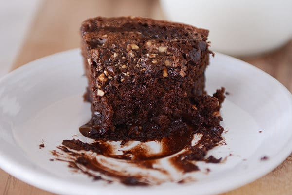 Hot Fudge Yogurt Cake