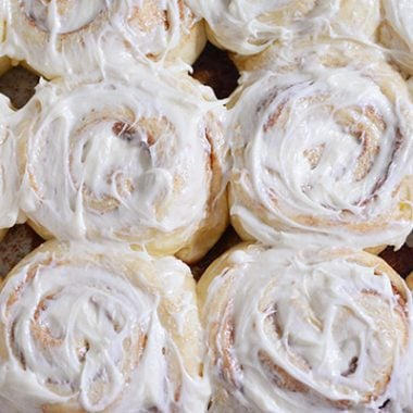 Yukon Gold Potato Cinnamon Rolls Recipe | Mel's Kitchen Cafe