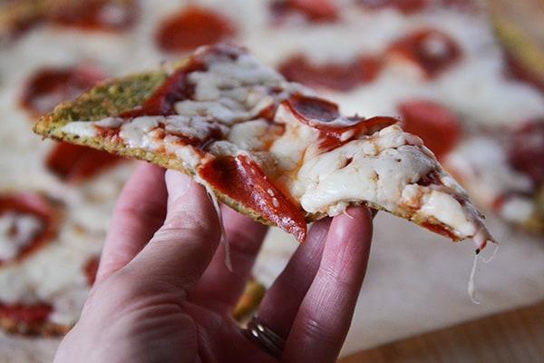 Low Carb Zucchini Pizza Crust
